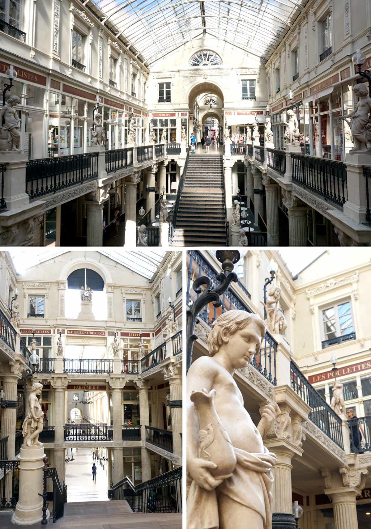 Visiter le centre historique de Nantes : le passage Pommeraye