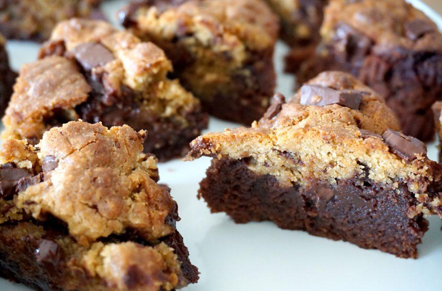 Brookie - Cookie et brownie deux en un