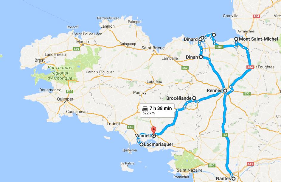 Notre road trip en Bretagne - Vacances en famille