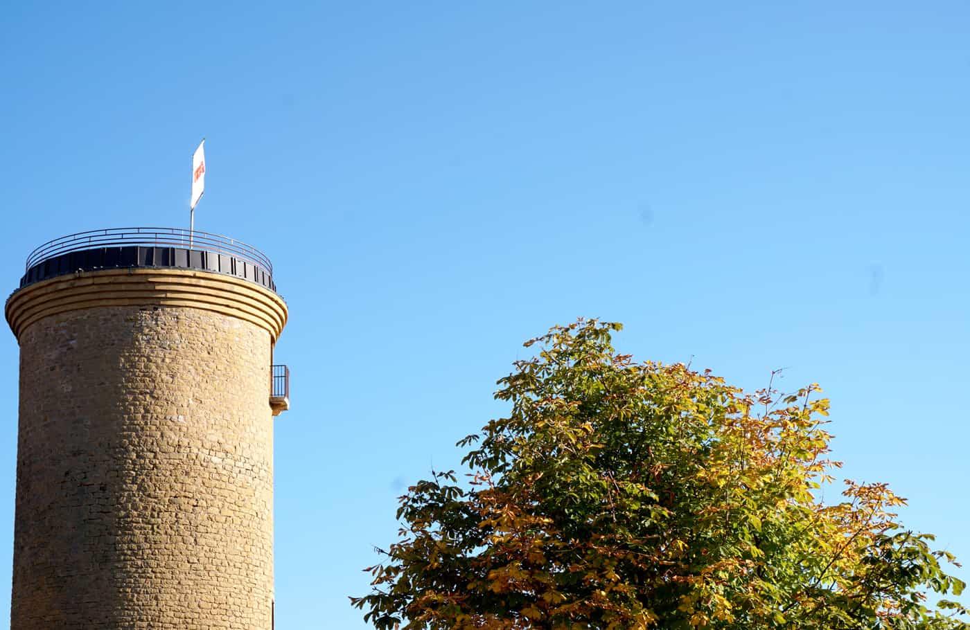 La tour du Donjon - Oingt, Beaujolais
