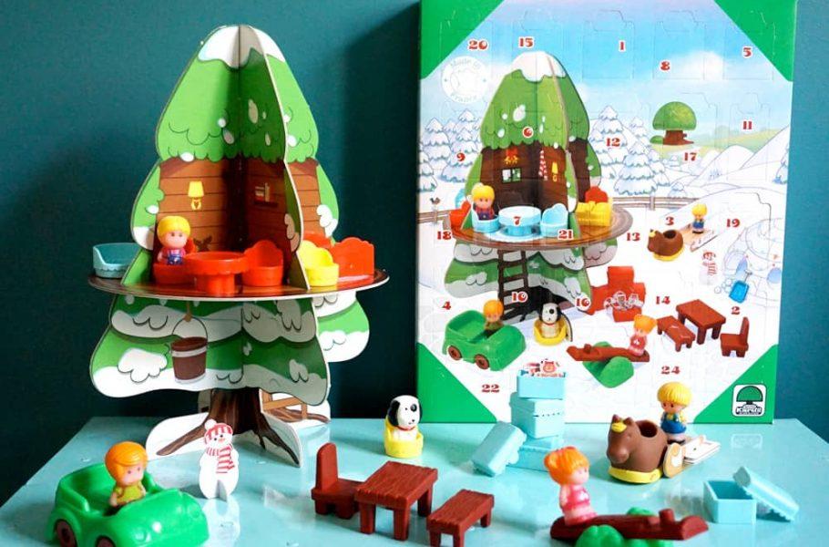 18 calendriers de l 39 avent avec des petits jouets blog maman - Arbre de l avent ...