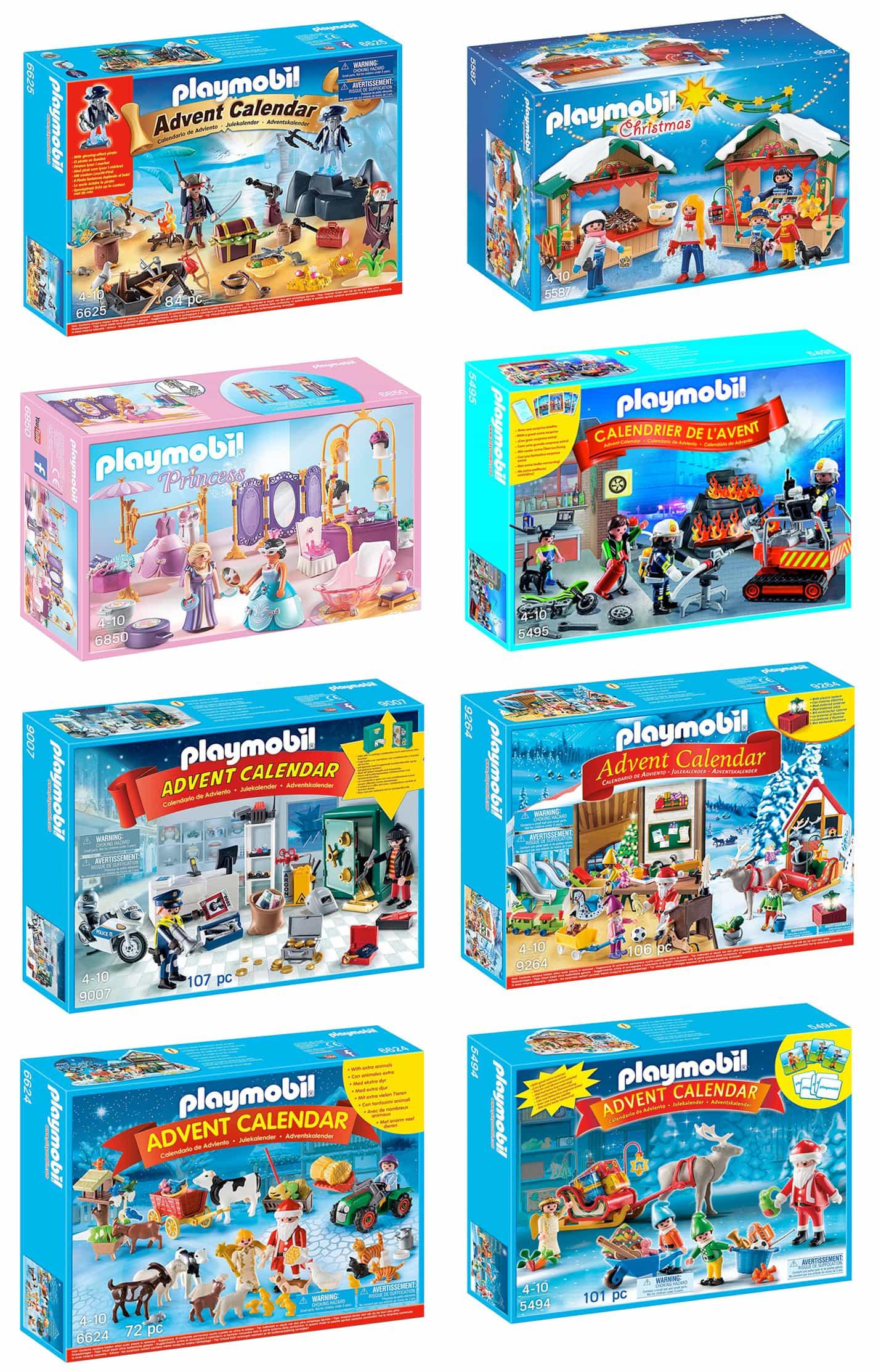 Calendrier de l'Avent Playmobil