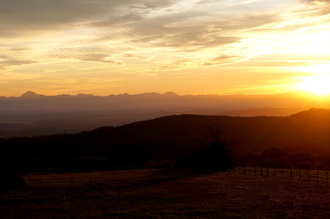 Et au loin les volcans d'Auvergne - Week-end d'automne en Auvergne