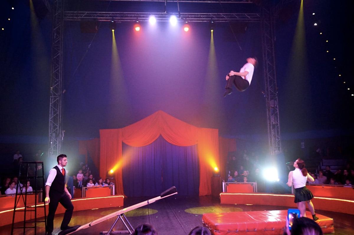 Cirque Imagine : spectacle de Noël
