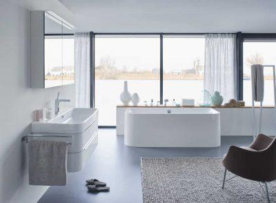 Ma salle de bain de rêve : grande et lumineuse