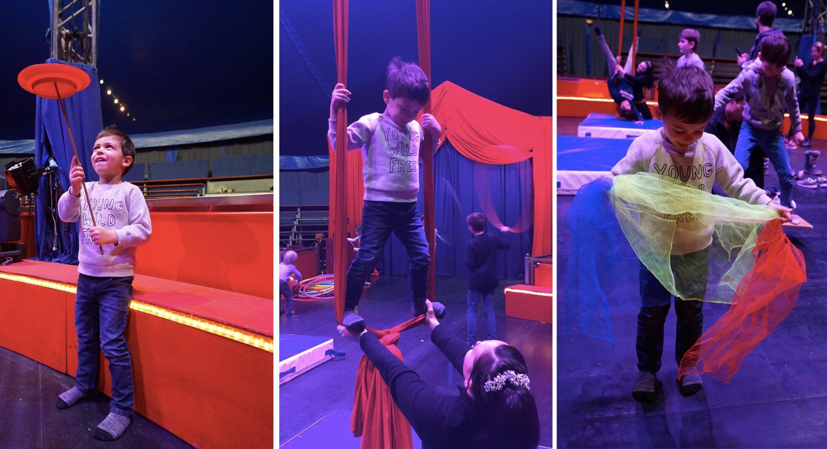 Ecole de Cirque Lyon - Cirque Imagine