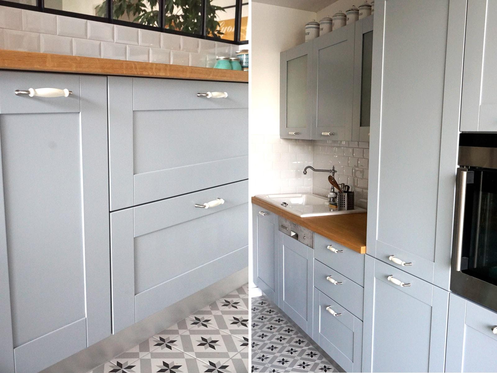 home tour ma cuisine semi ouverte avec verri re blog d co. Black Bedroom Furniture Sets. Home Design Ideas