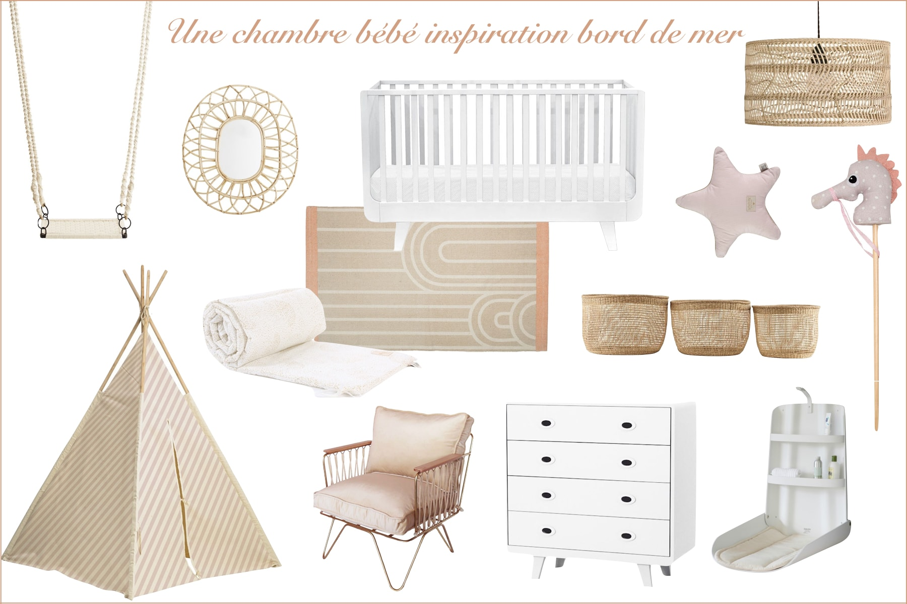 Deco Chambre Bebe Ma Selection Shopping Frenchrosa Blog