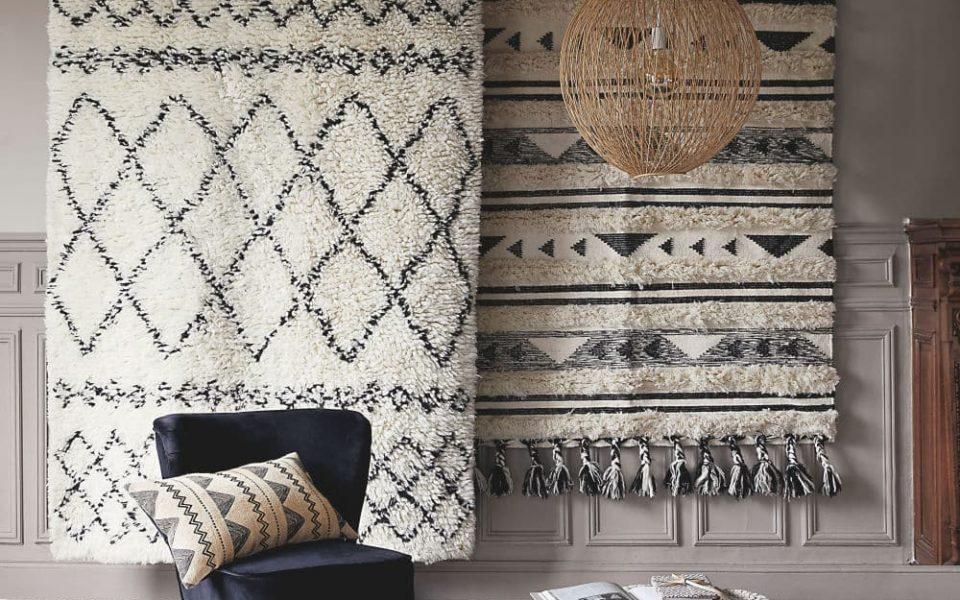 Où acheter un tapis style berbère en laine ou en synthétique ...