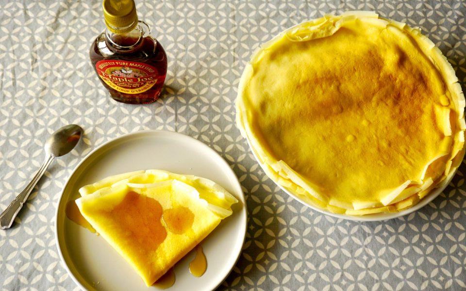Pâte à crêpe au blender