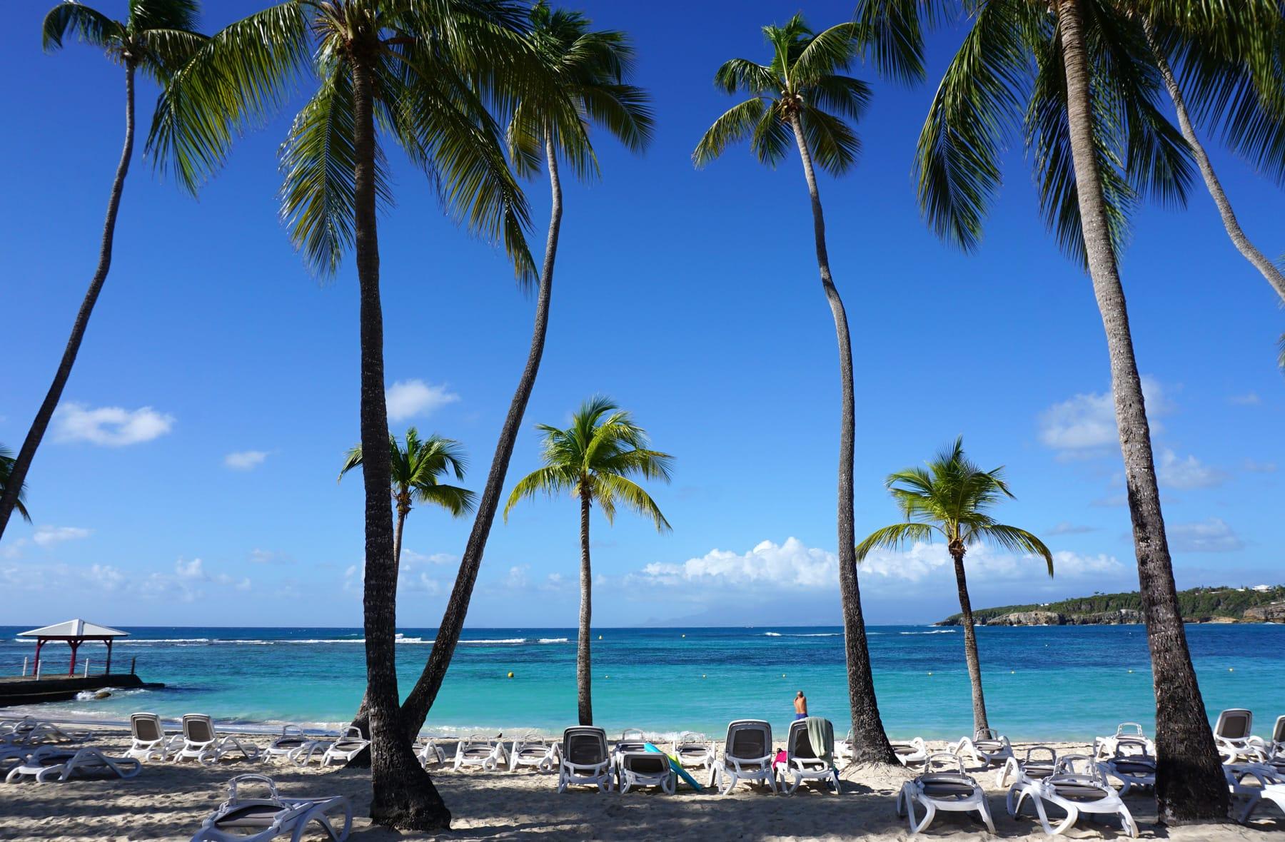 Plage du club Med Guadeloupe - Plage de la Caravelle