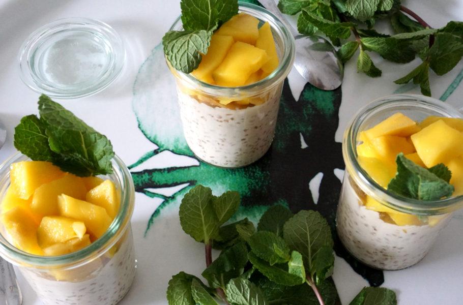 Recette Perles de tapioca lait de coco & mangue - Dessert rapide et facile