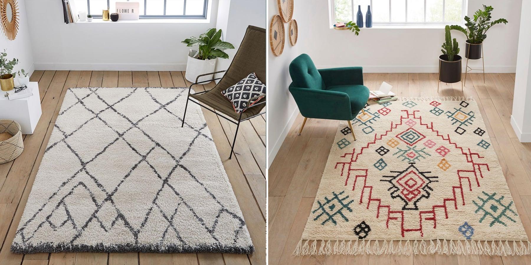 Où acheter un tapis berbère - Inspirations déco : un tapis berbère dans le salon