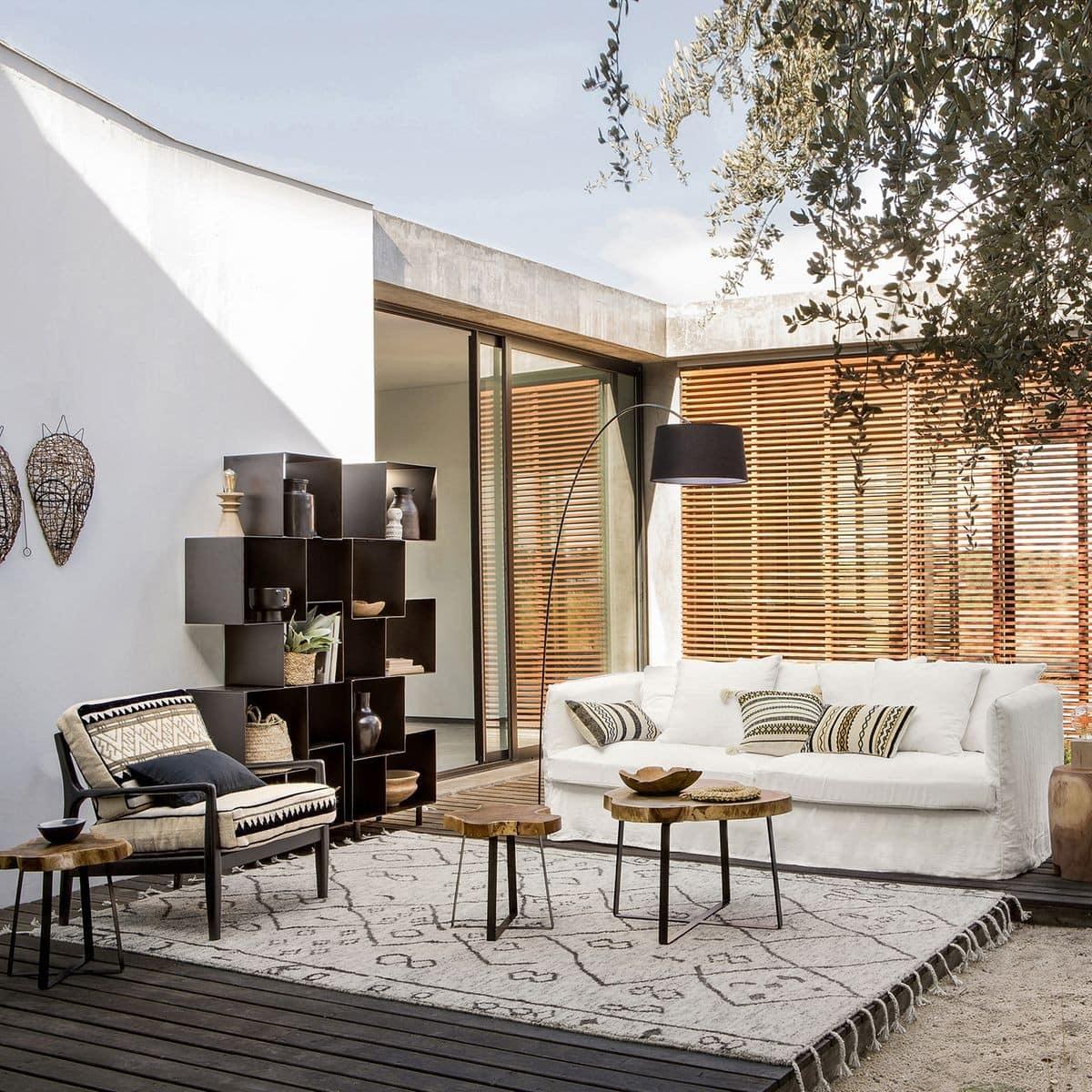o acheter un tapis style berb re en laine ou en. Black Bedroom Furniture Sets. Home Design Ideas