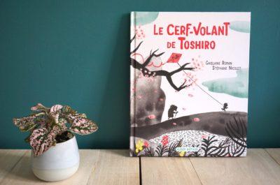 Livre enfant 3-6 ans : Le cerf-volant de Toshiro