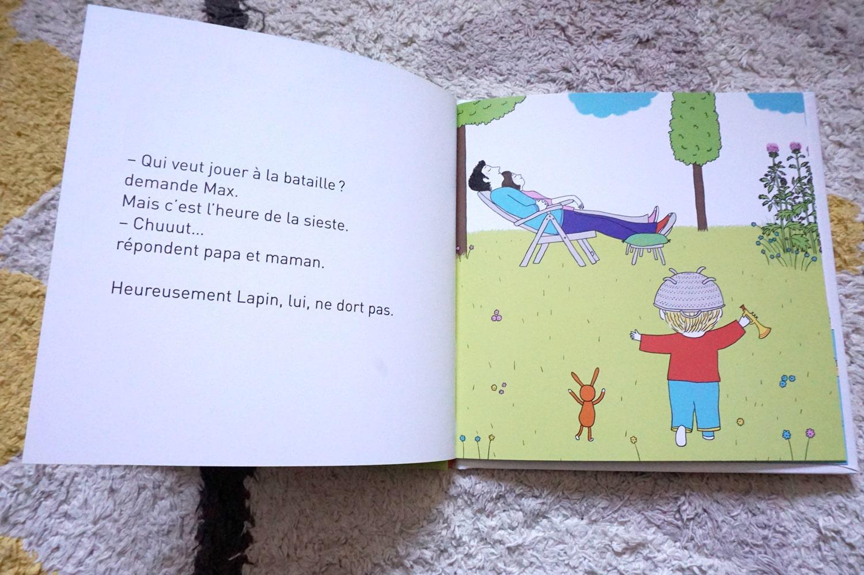 Livre enfant 3-6 ans : Max et Lapin