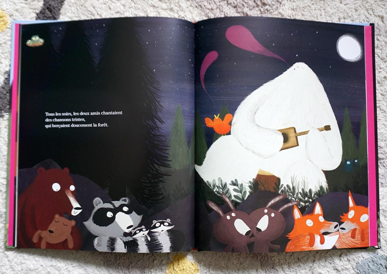 Livre enfant 3-6 ans : Le yéti et l'oiseau
