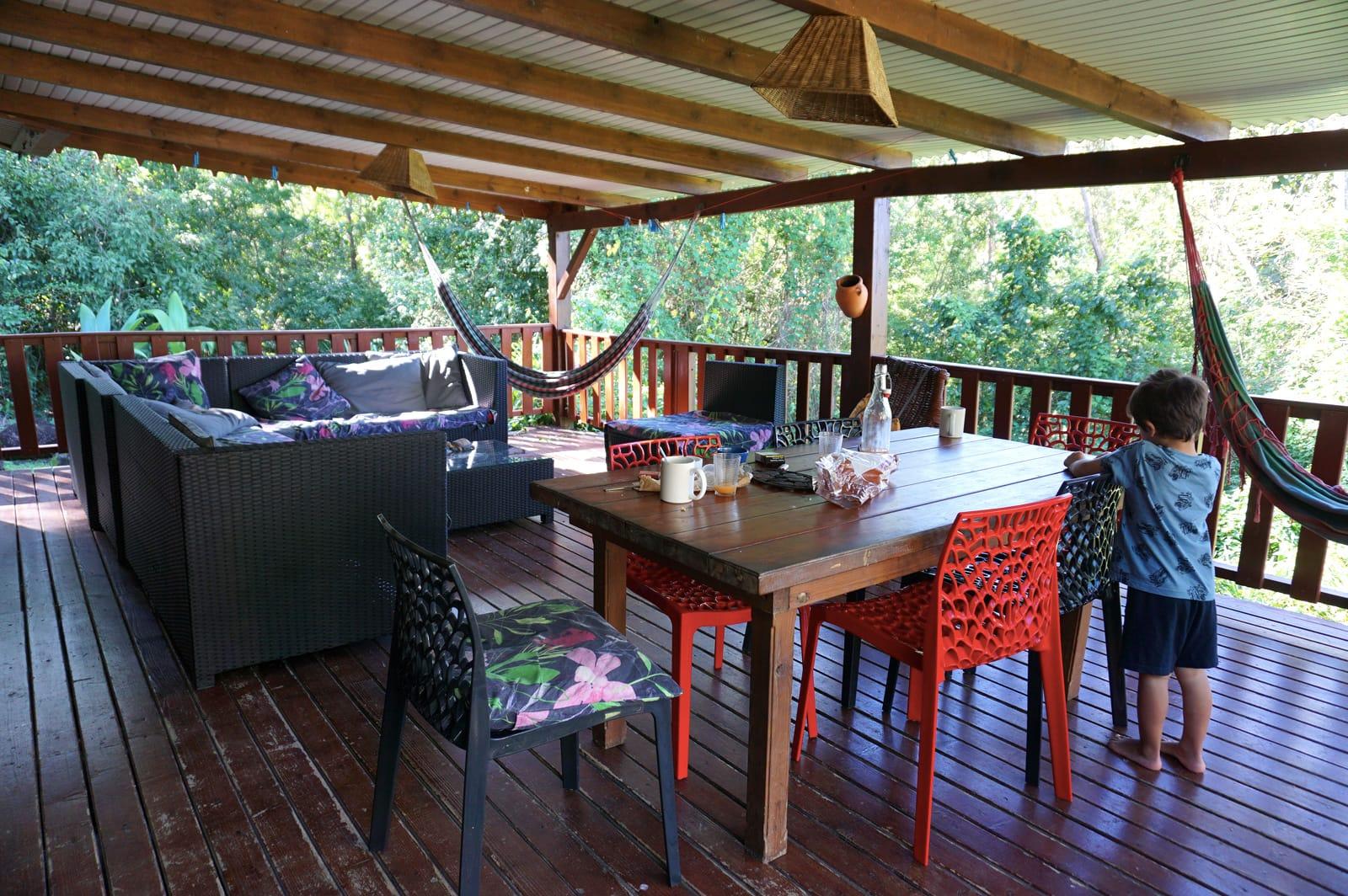 Notre logement airbnb à Pointe-Noire - Cabane airbnb Guadeloupe