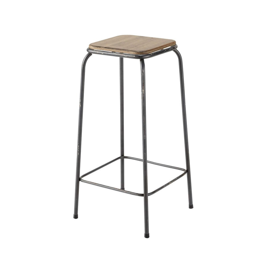 Deco industrielle tabouret de bar