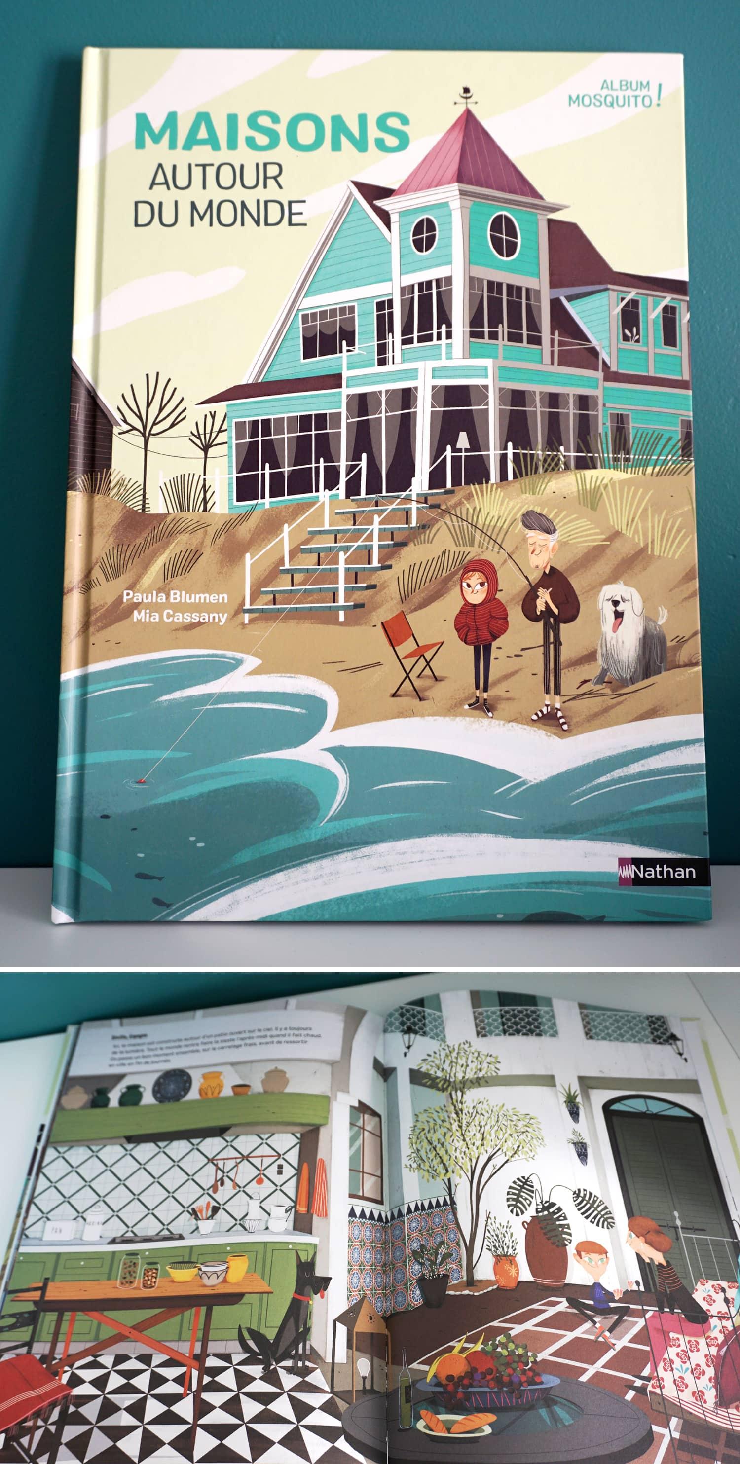 Livre enfant 3-6 ans : Maisons autour du monde