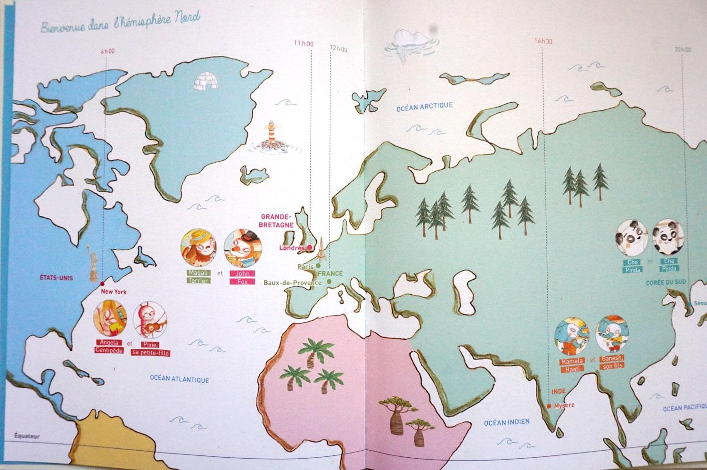 Livre enfant 3-6 ans : Un jour sur Terre