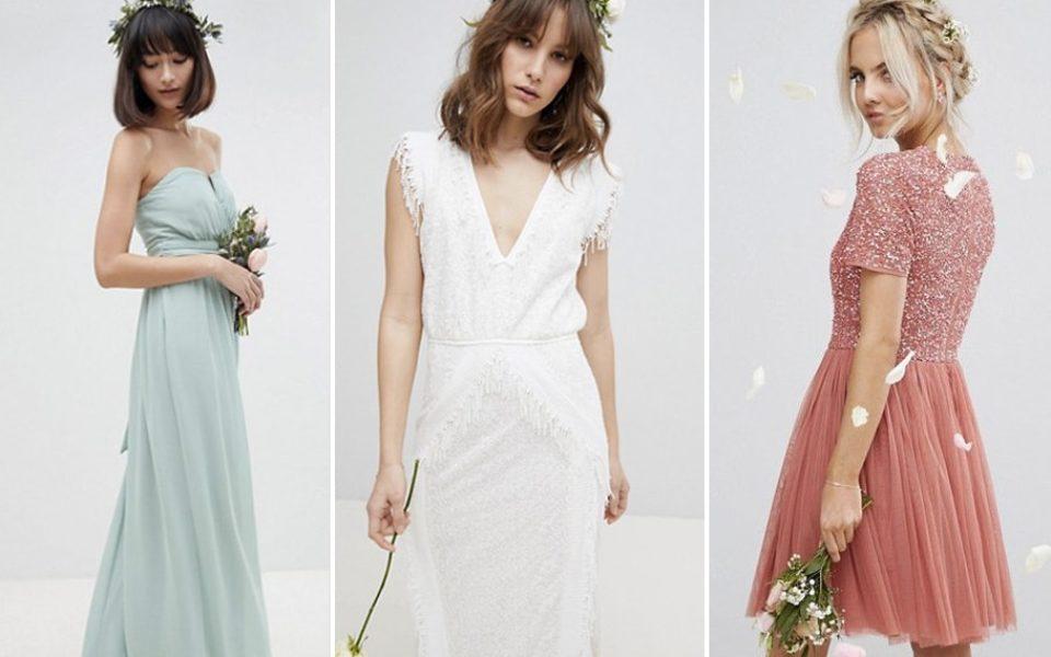 Asos Mariage : Ma sélection de robes de mariage, robes de mariée et robes de demoiselle d'honneur