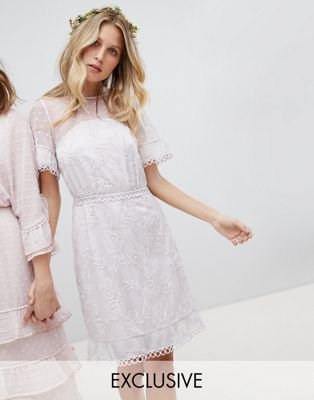 Asos Mariage - Robe de mariée simple pas cher