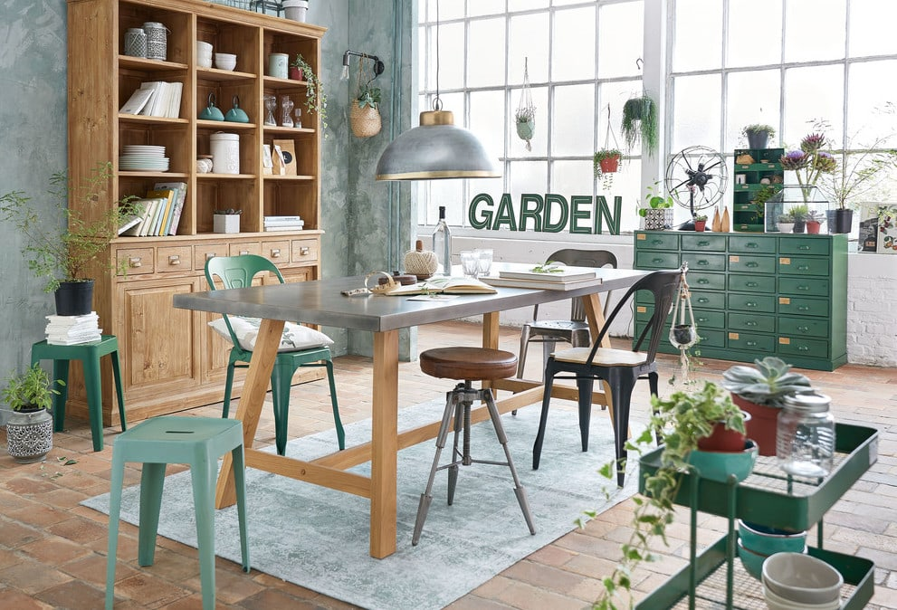 Deco style industriel campagne