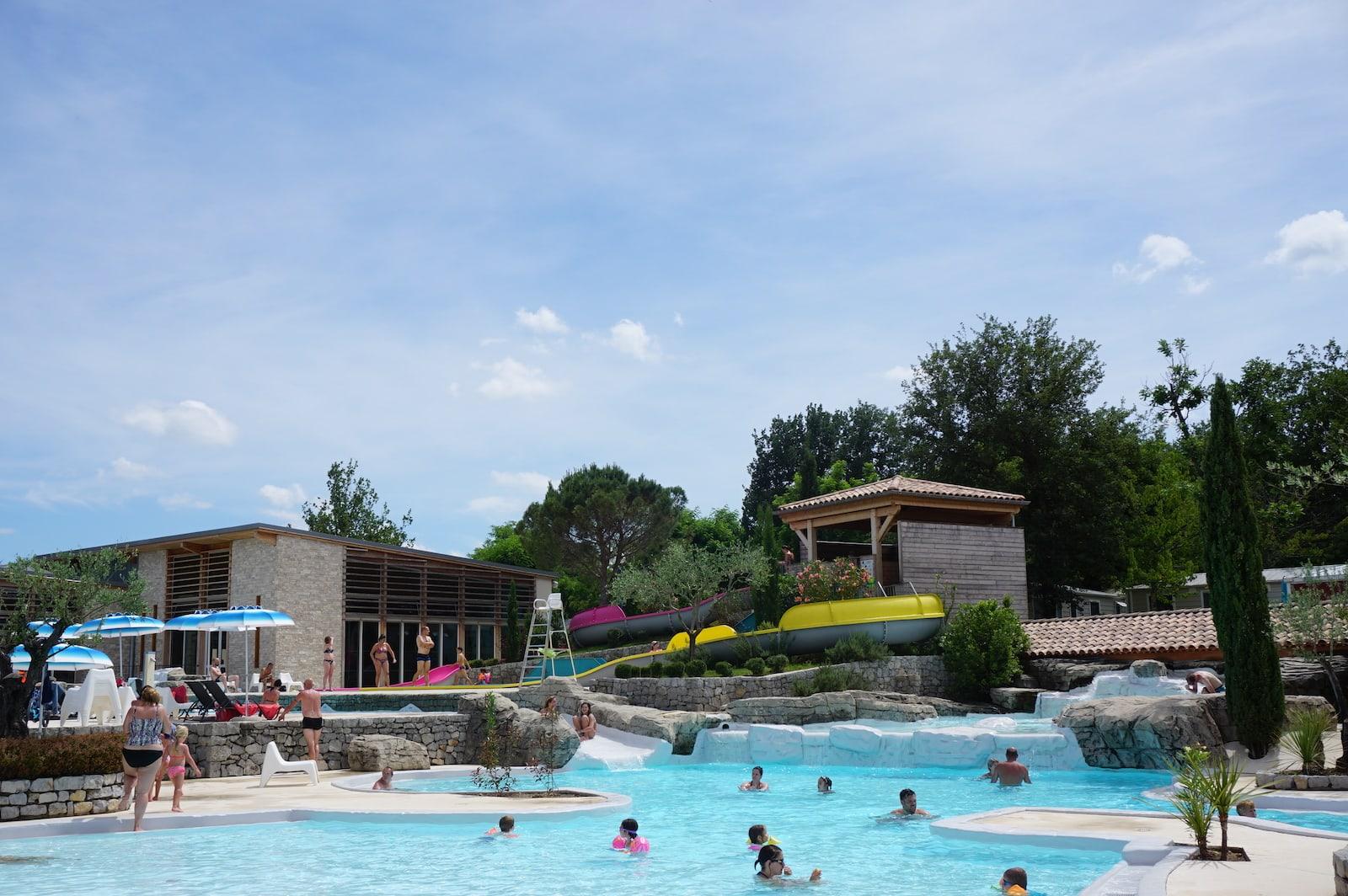 Yelloh village camping ardeche piscine