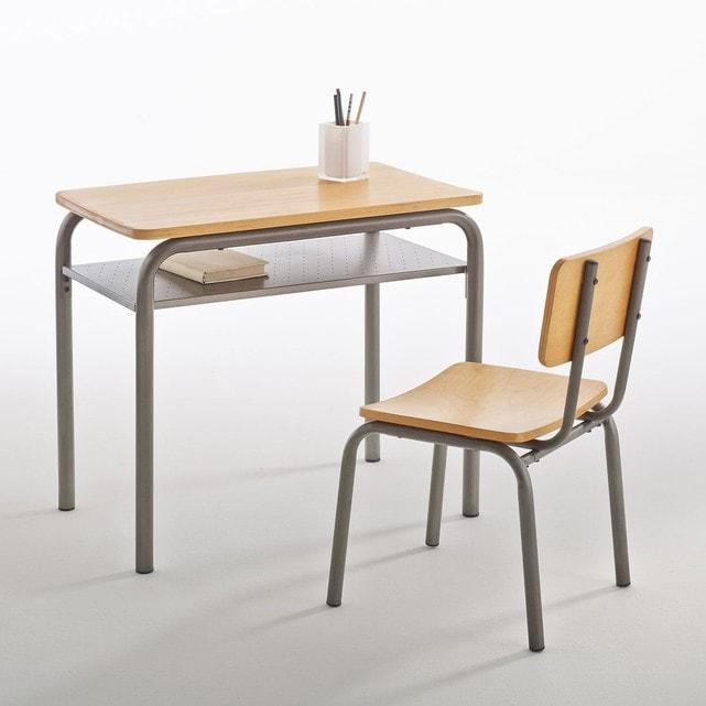 Bureau chaise ecolier vintage