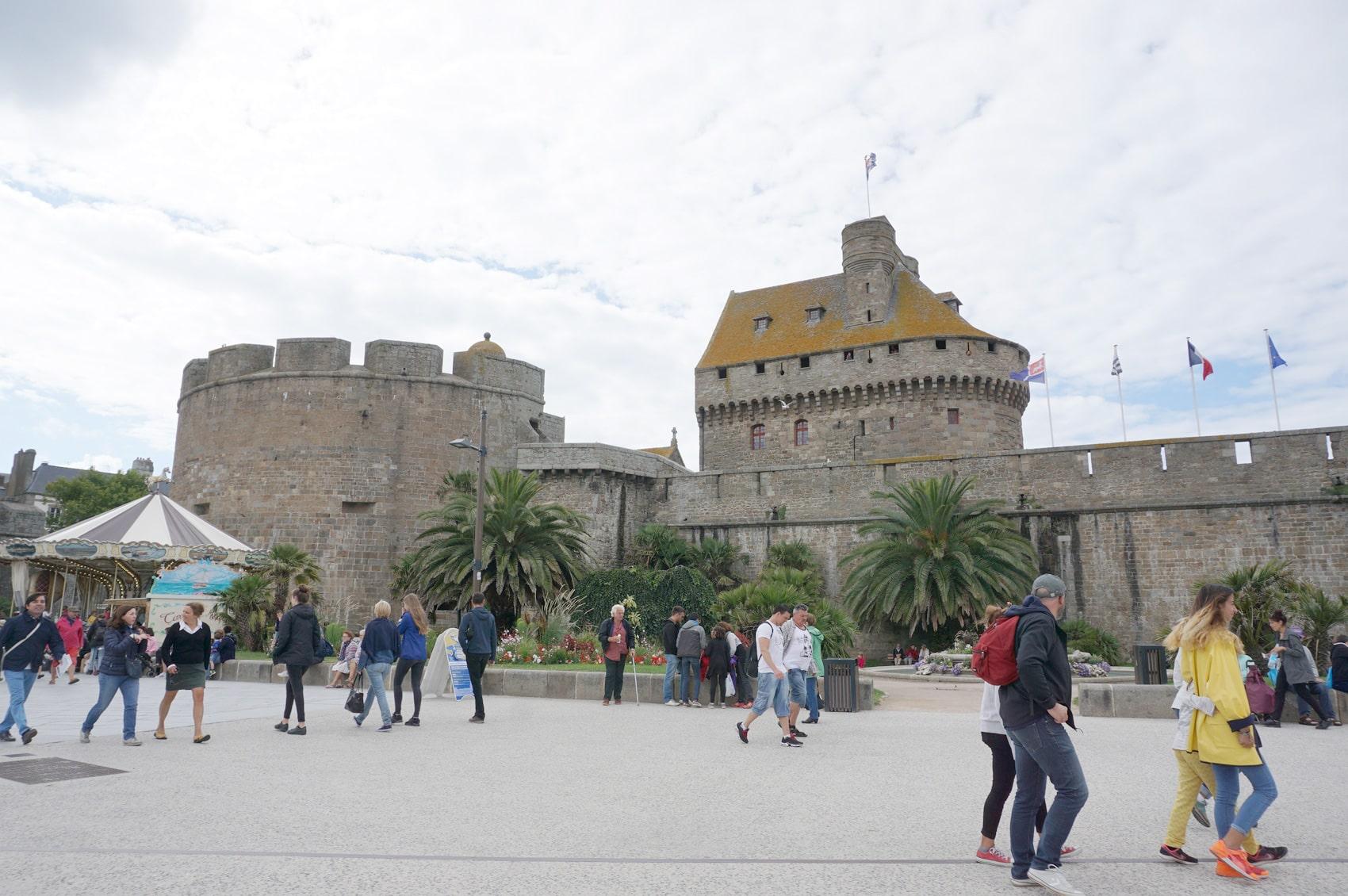Château de Saint-Malo - Nos vacances en famille en Bretagne