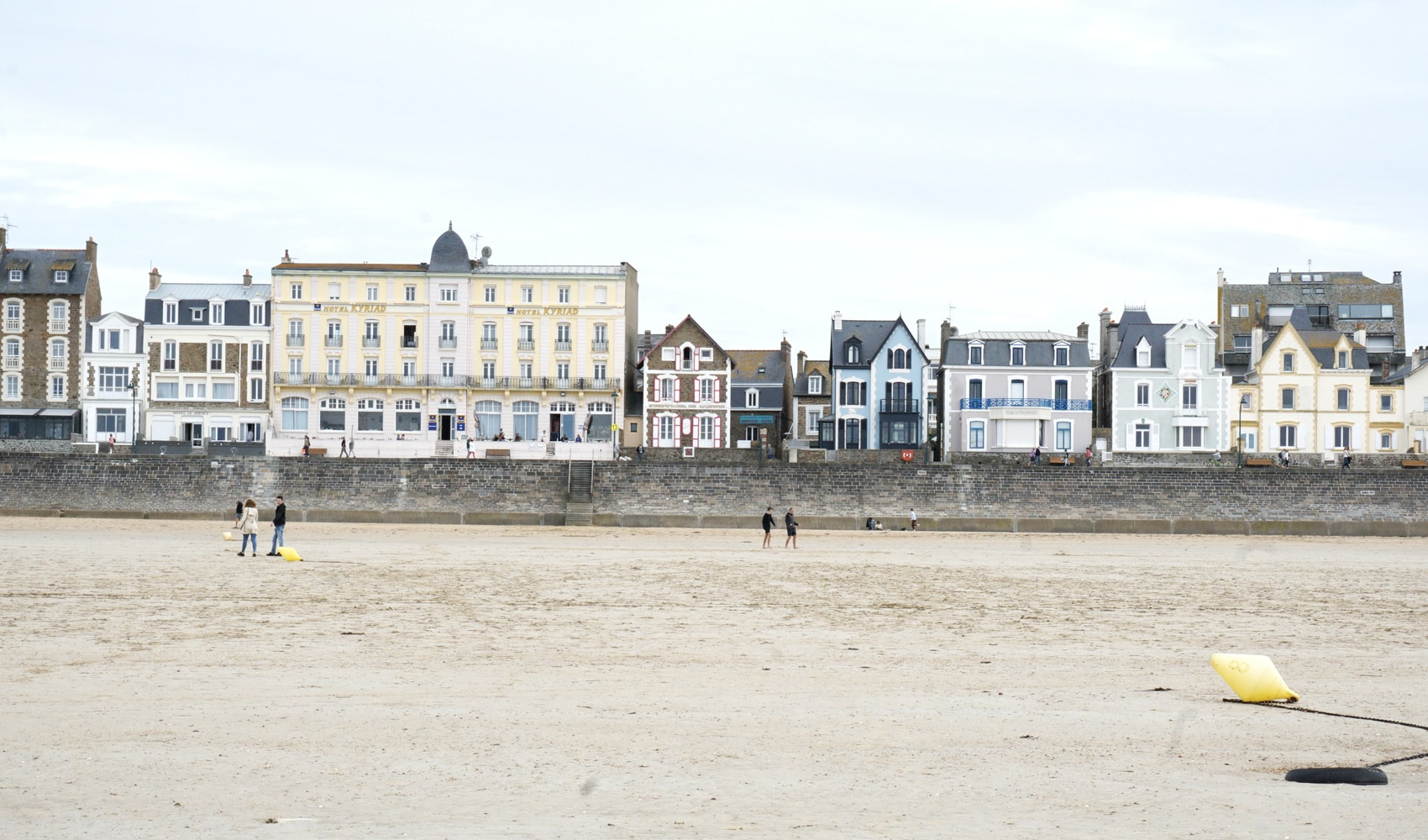 Hôtels St-Malo front de mer plage du Sillon