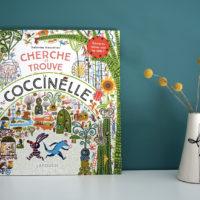 Livre enfant 3-6 ans Cherche et trouve la Coccinelle