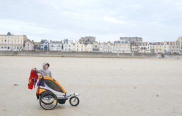 La plage du Sillon à Saint-Malo - Nos vacances en famille en Bretagne