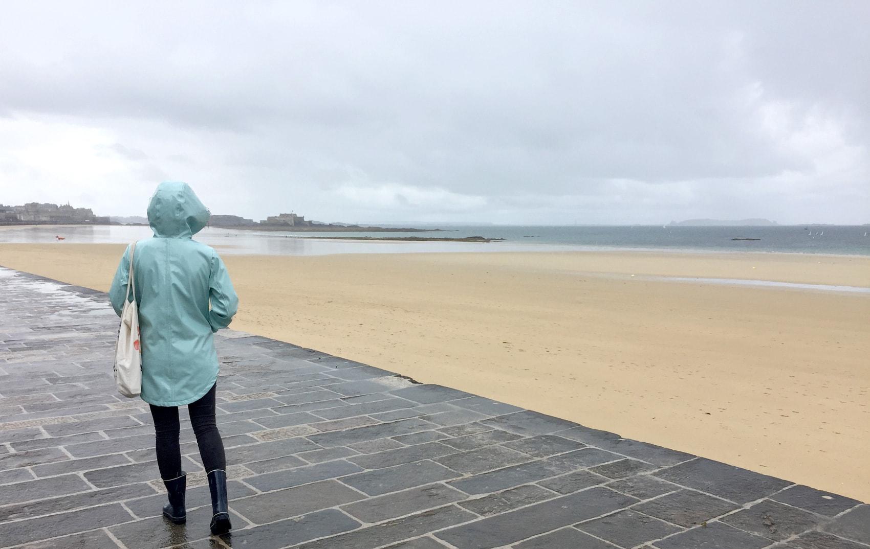 Saint-Malo sous l'eau ! Vacances pluvieuses en Bretagne