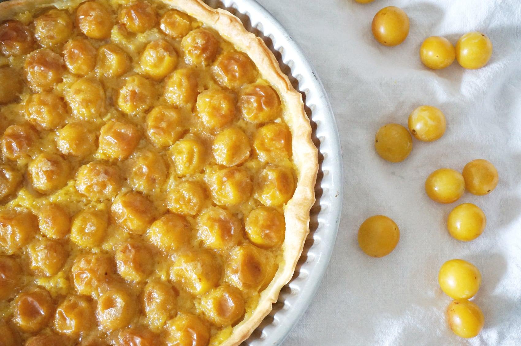 Recette tarte mirabelles