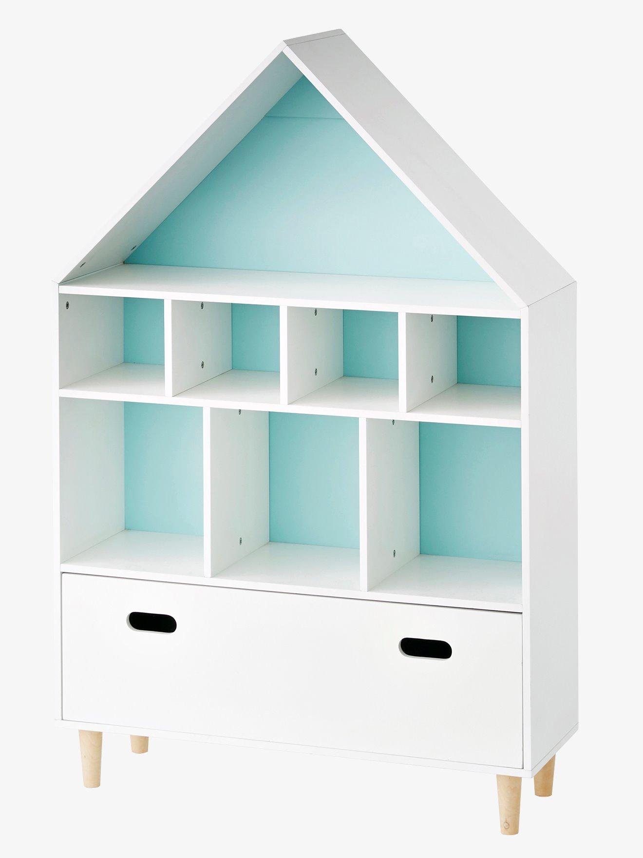 Bibliothèque maison enfant vertbaudet - Déco chambre enfant