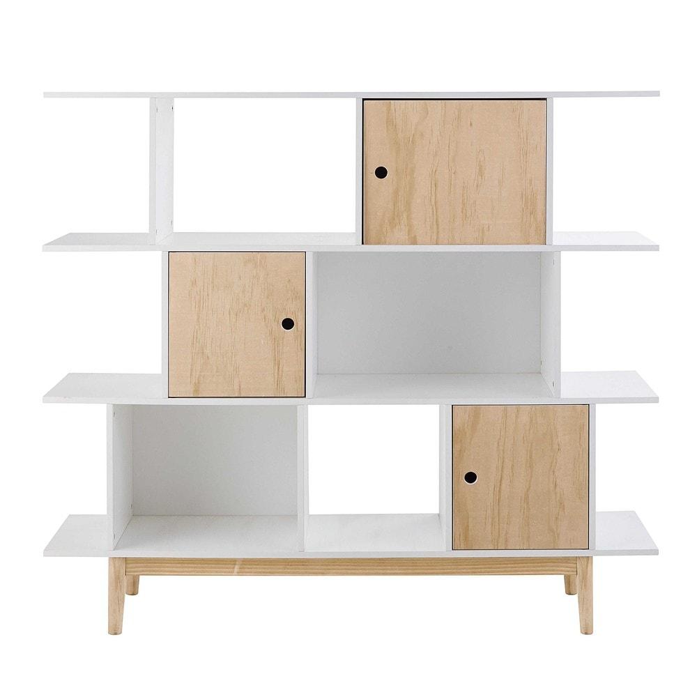 Bibliothèque enfant scandinave - Déco chambre enfant