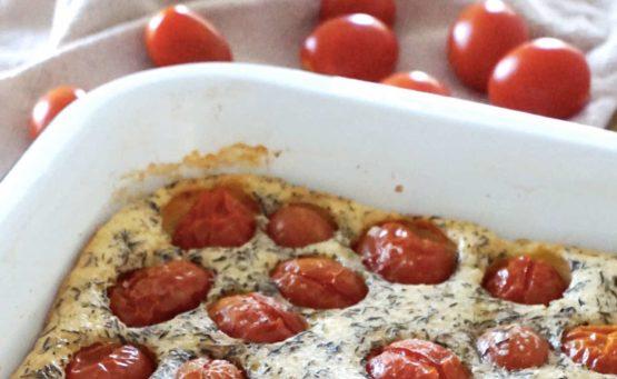 Recette clafoutis tomates