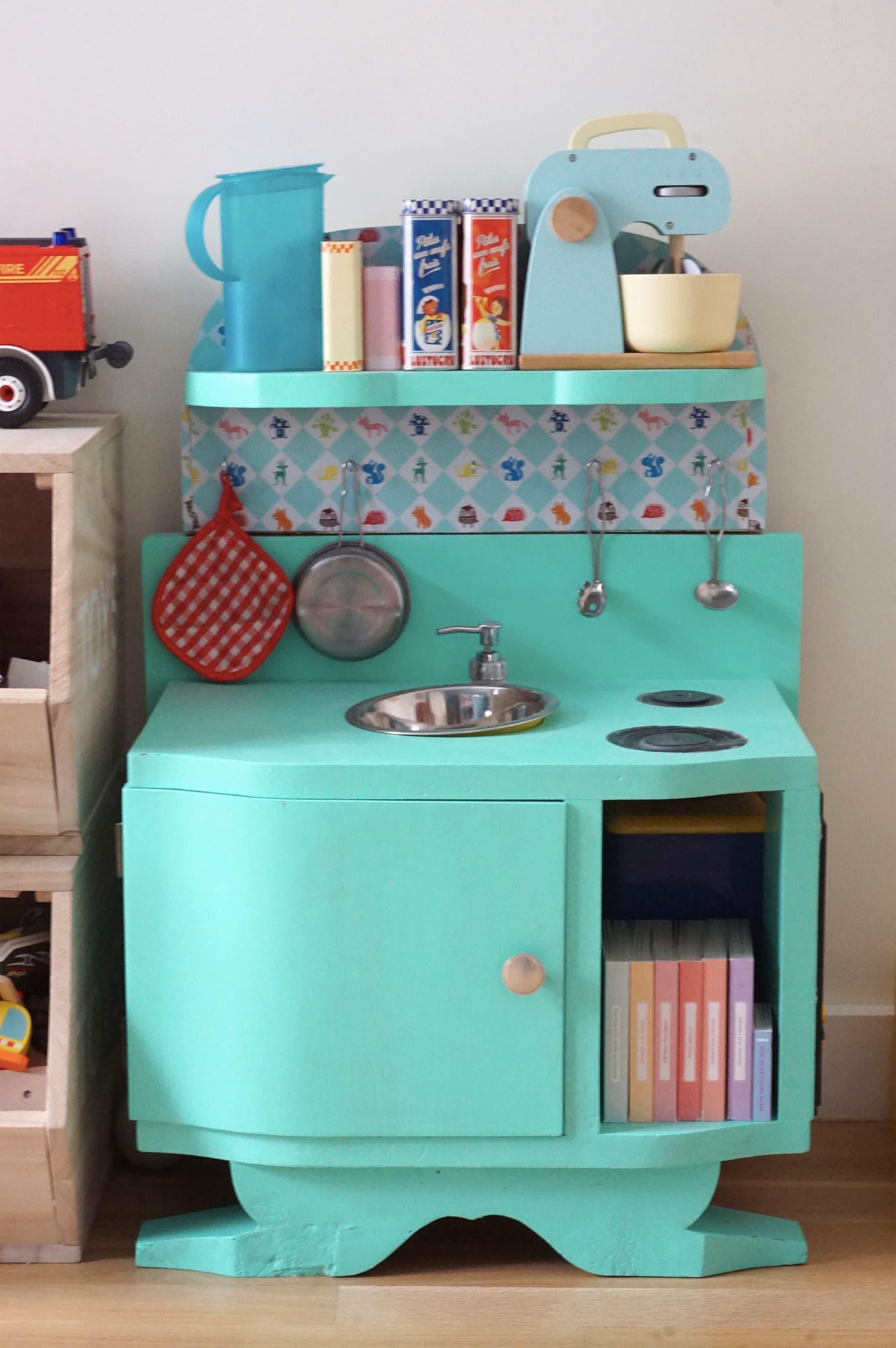 Chambre enfant - Cuisine en bois enfant