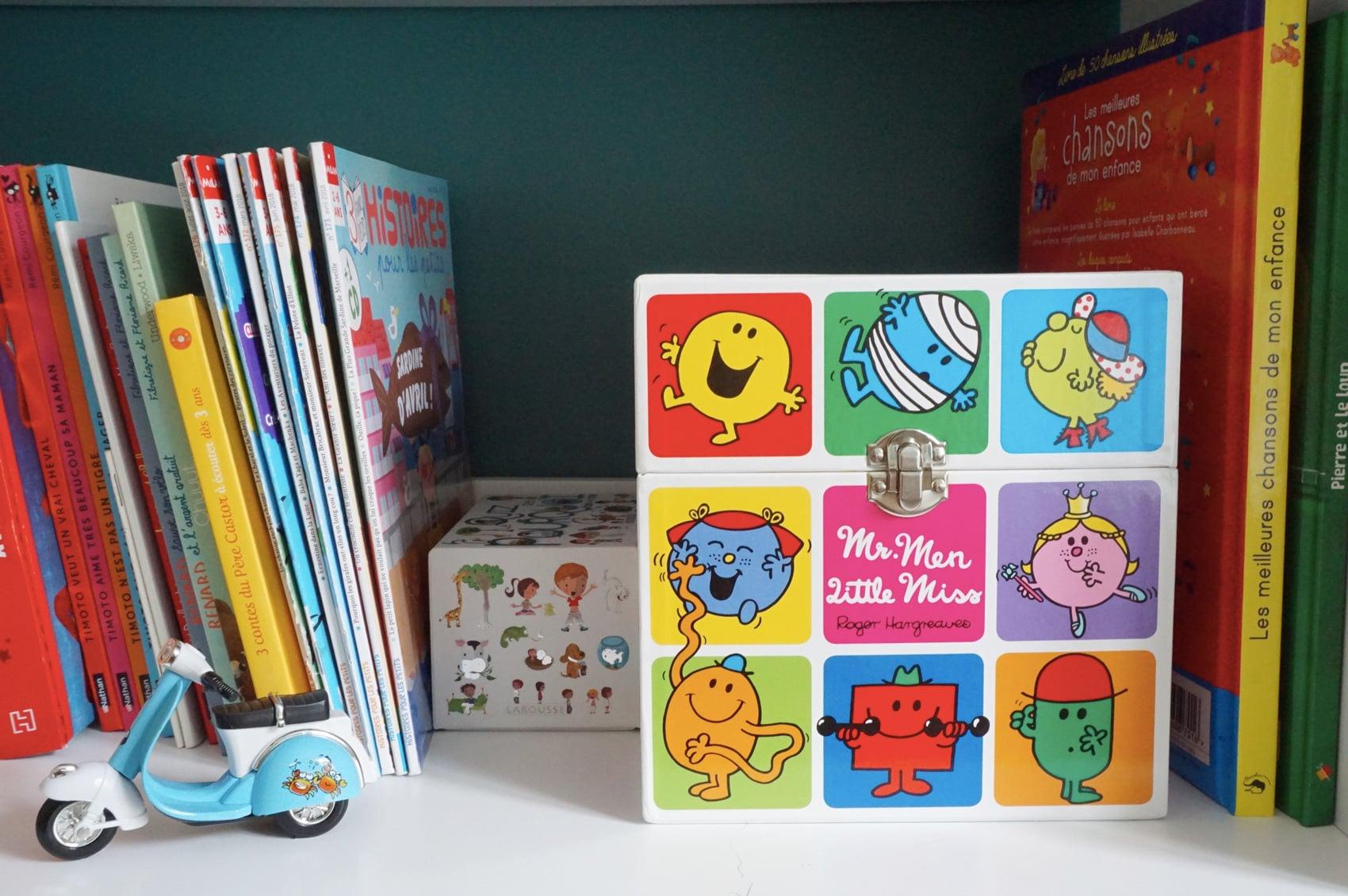 Chambre enfant garçon - Bibliothèque enfant