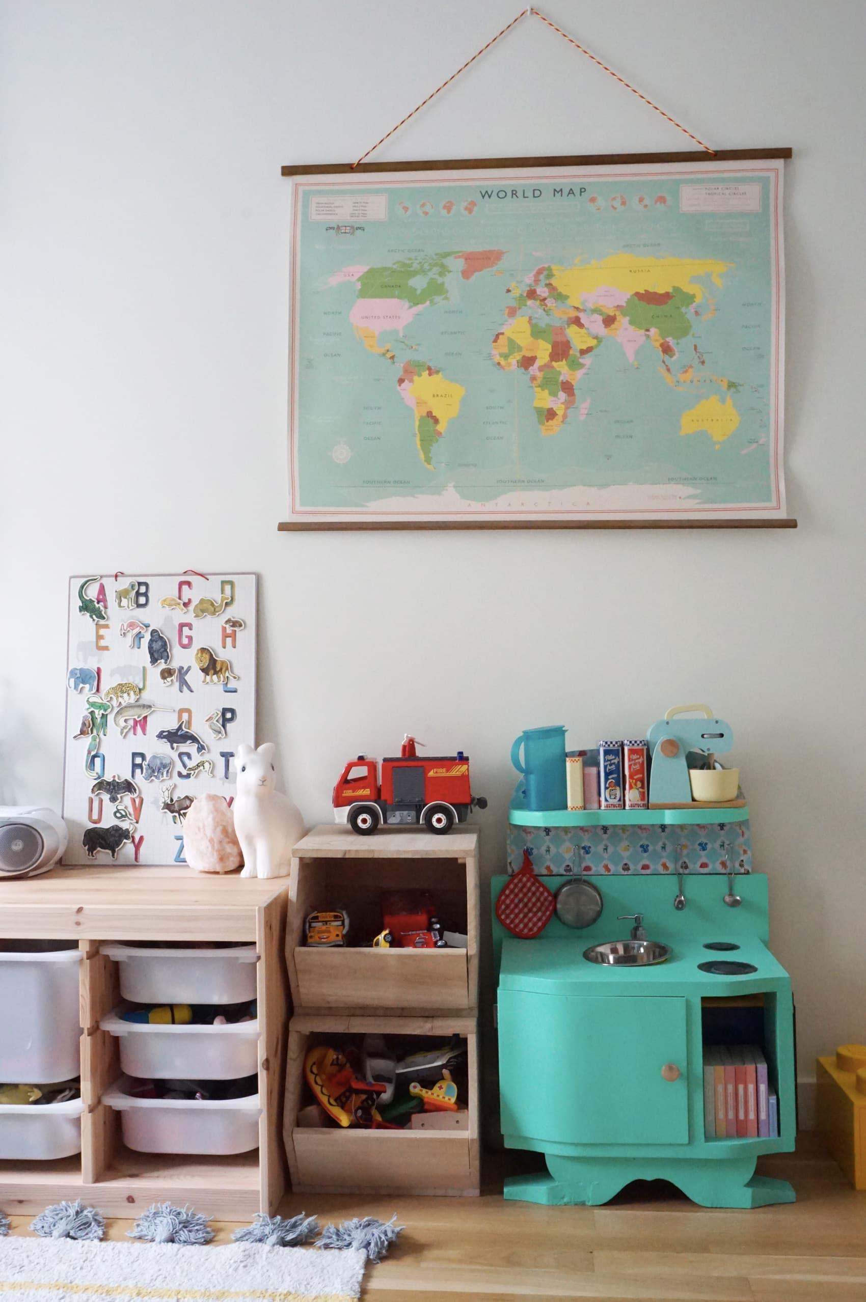 home tour : la chambre enfant de noah - déco chambre enfant garçon