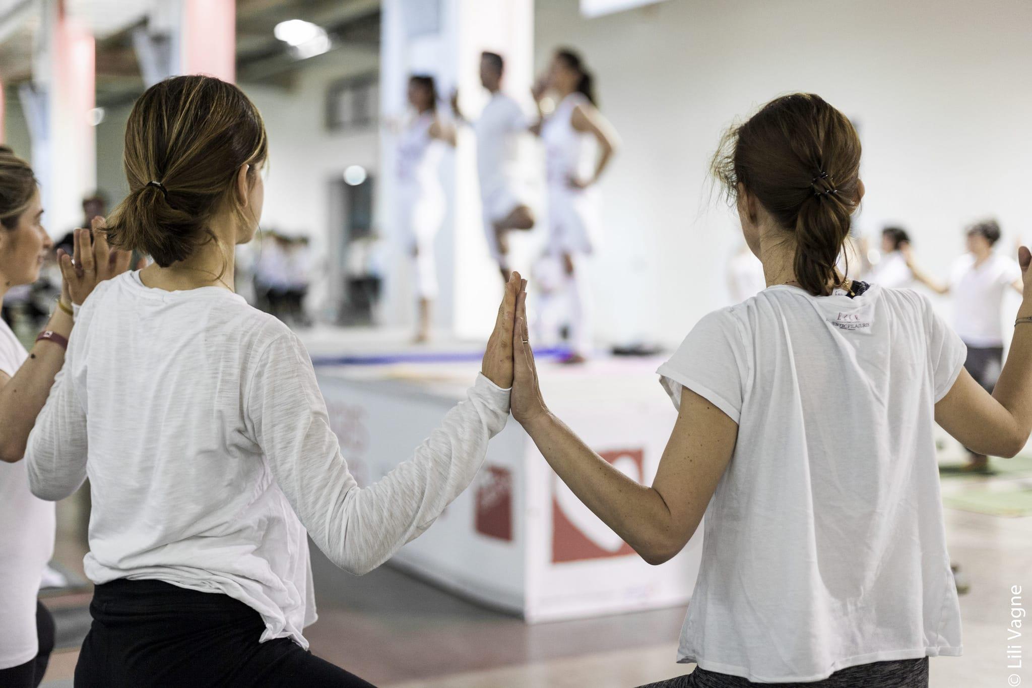 Yoga du coeur lyon la sucriere