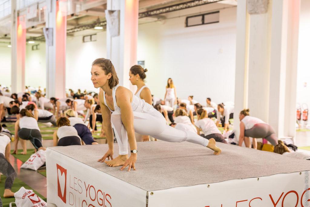Les Yogas du coeur à Lyon - Edition 2018 à la Sucrière