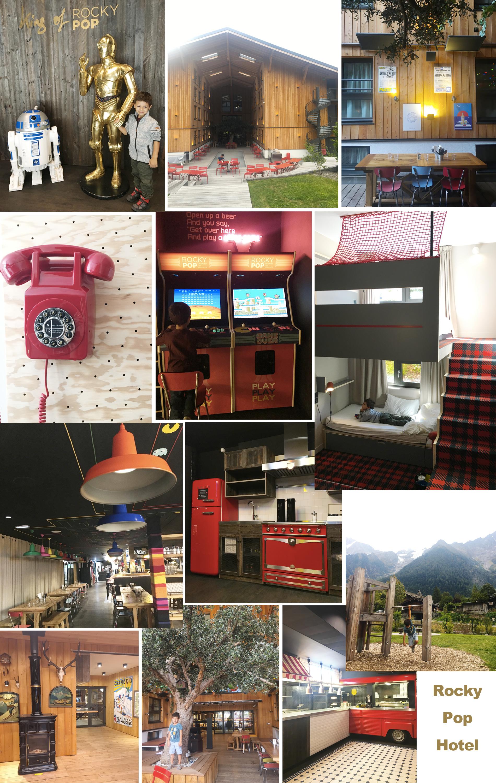 Hôtel Chamonix - Le Rocky Pop Hotel