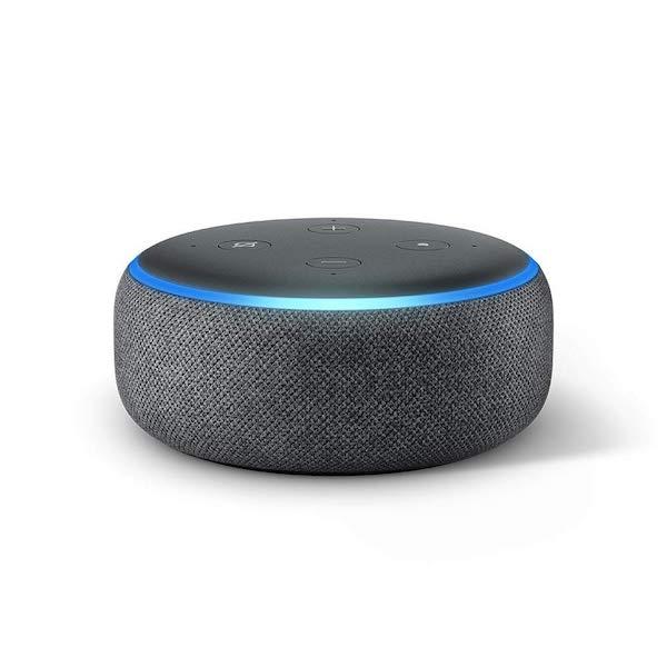 Echo Dot (3ème génération), Enceinte connectée avec Alexa - Idée cadeau pour homme - Cadeau anniversaire homme cadeau ou cadeau Noël homme