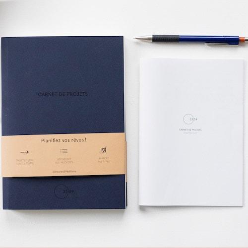 Carnet de projets - Idée cadeau pour homme - Cadeau anniversaire homme cadeau ou cadeau Noël homme