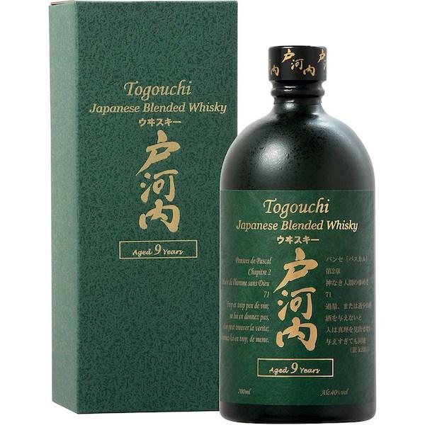 Whisky Togouchi 9 ans - Idée cadeau pour homme - Cadeau anniversaire homme cadeau ou cadeau Noël homme