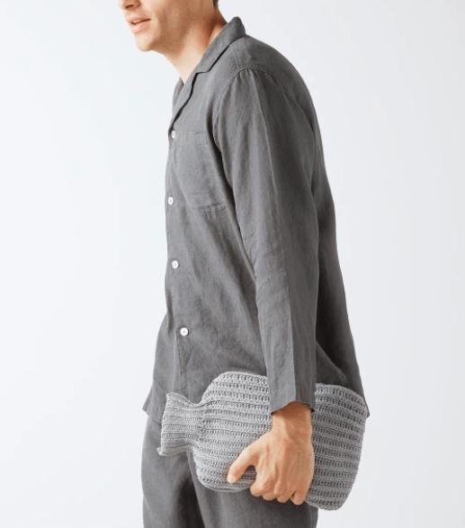 Pyjama en lin lavé - Idée cadeau pour homme - Cadeau anniversaire homme cadeau ou cadeau Noël homme