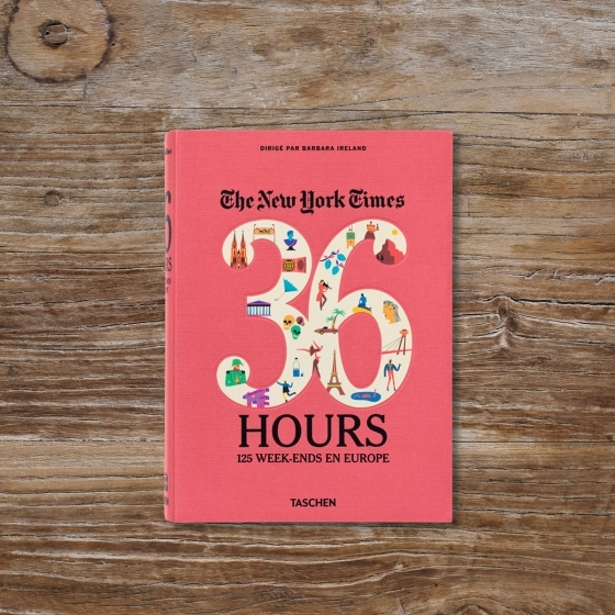 Livre 36 heures 125 weeks-end en Europe - Idée cadeau pour homme - Cadeau anniversaire homme cadeau ou cadeau Noël homme